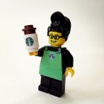 Starbucks Lego Guy